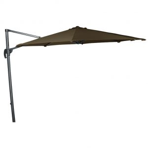 Falcon T1 3m Round Parasol - Taupe