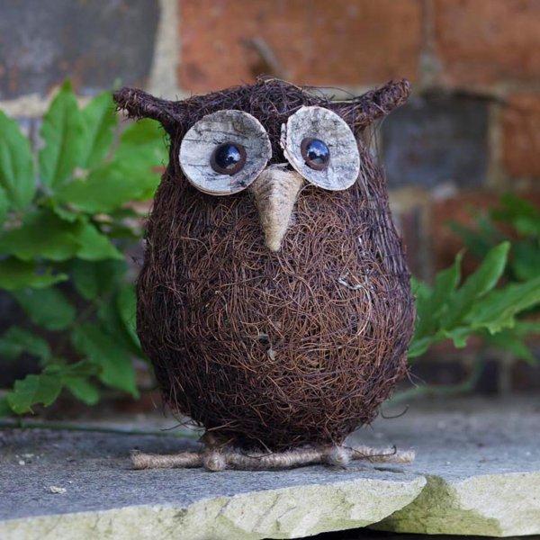 Smart Garden Ollie! - Rattan Owl