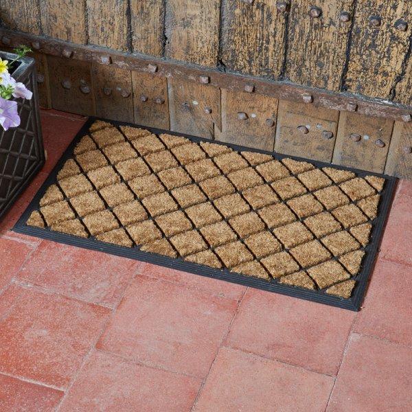 Smart Garden Heavy Duty Diamond Pattern Mat 75x45cm