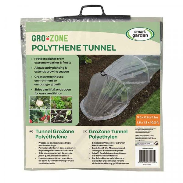 Smart Garden GroZone Polythene Tunnel