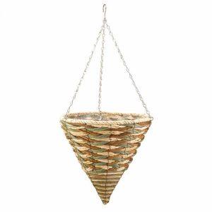"Smart Garden 14"" Trinity Hanging Cone Basket"