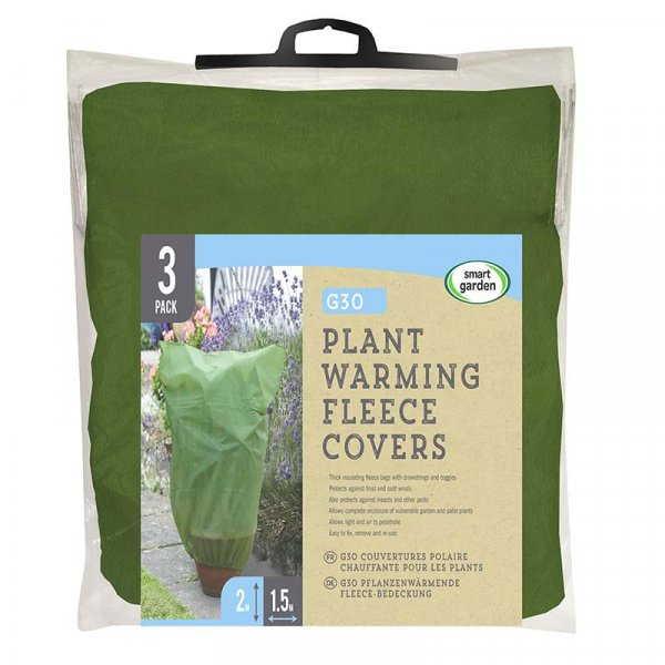 Smart Garden Plant Warming Fleece Covers -  pk3 1.2m x 0.9m