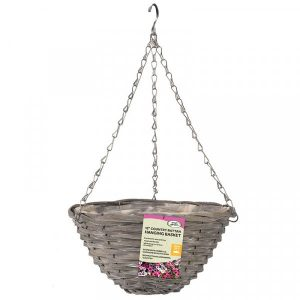 "Smart Garden 14"" Sable Willow Basket"