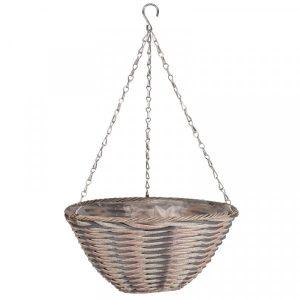 "Smart Garden 14"" Oceana Faux Rattan Basket"