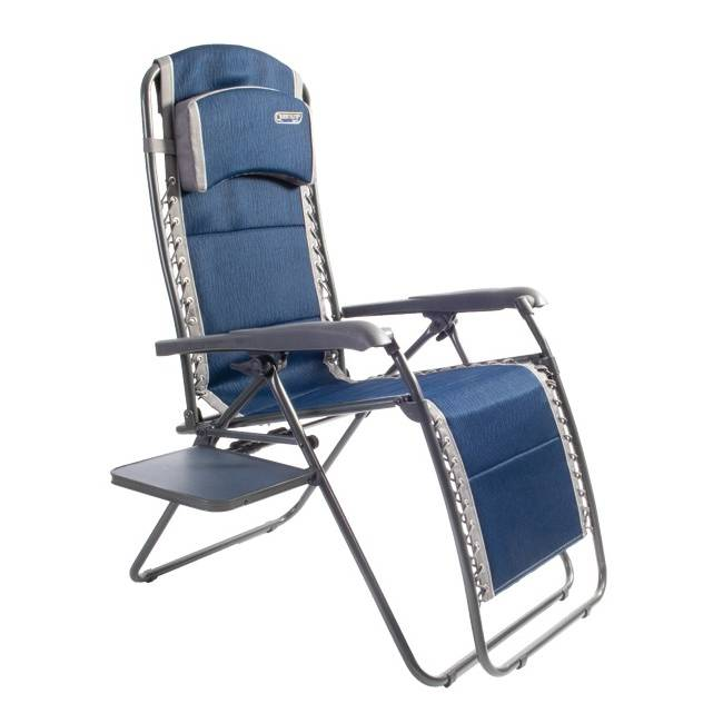 Ragley Pro Relax Chair With Table - Blue
