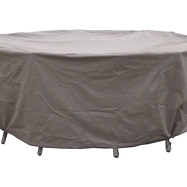 150cm Round Table Set Cover - Khaki