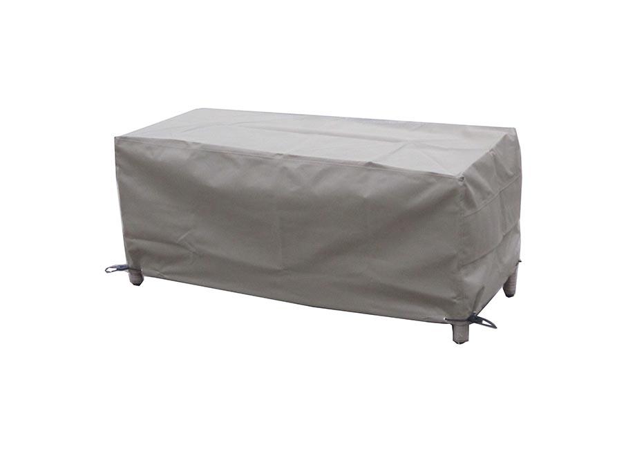 BrambleCrest Casual Dining Bench Cover - Khaki