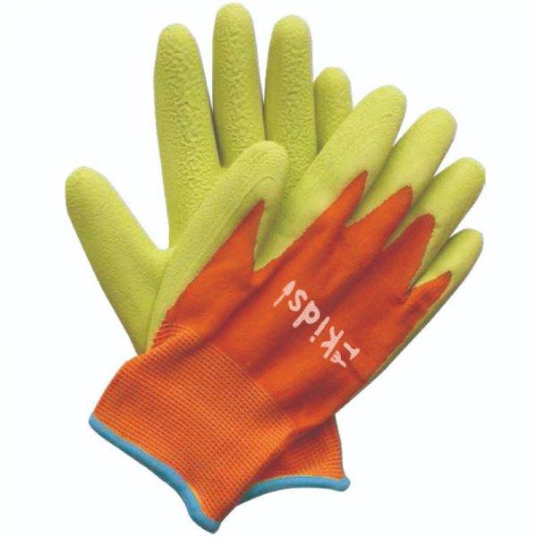 Smart Garden Junior Diggers Garden Gloves Orange/Yellow  6-10yrs