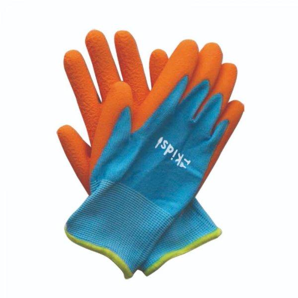 Smart Garden Junior Diggers Garden Gloves Orange/Blue  6-10yrs