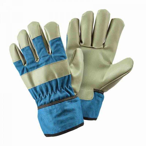 Smart Garden Junior Riggers Gloves 8-12yrs (Blue)