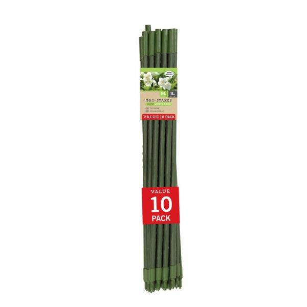 Smart Garden Extendible Gro-Stake 0.9m - 10pc Multipack