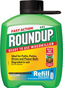 Roundup Fast Action Pump N Go Weedkiller 2.5L