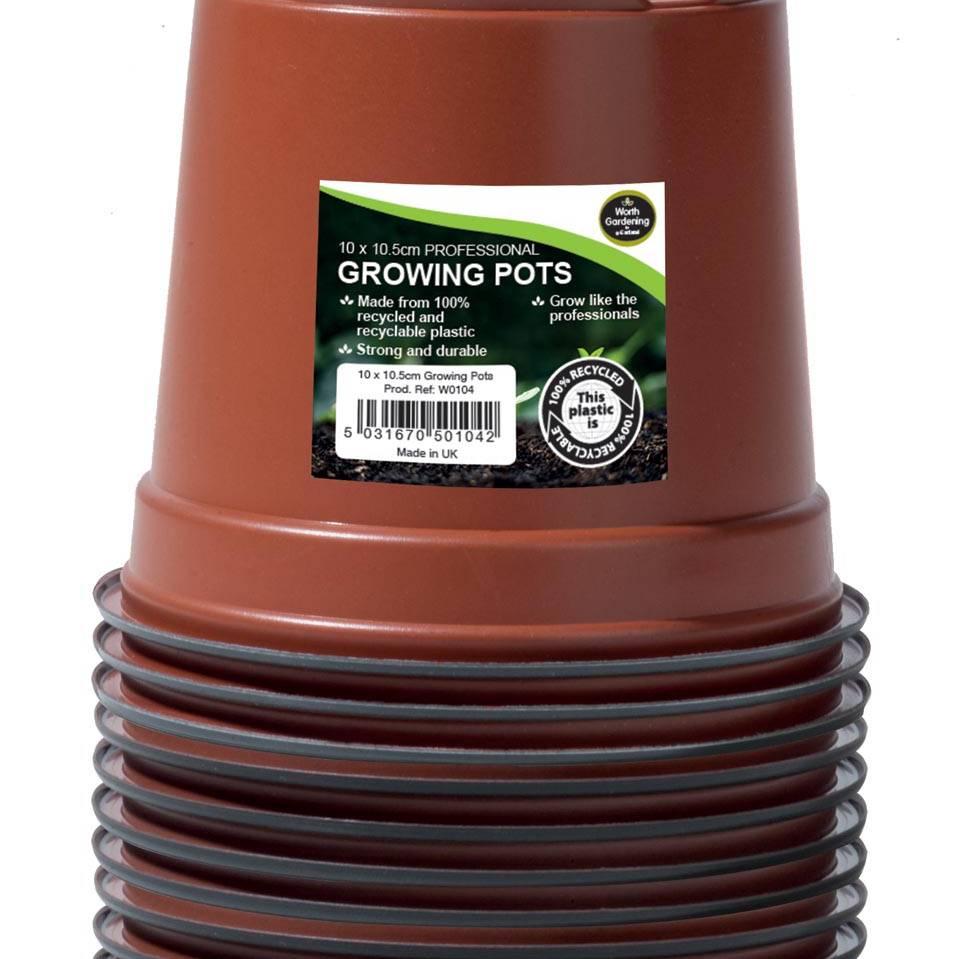 Garland 10.5cm Professional Growing Pots (10)