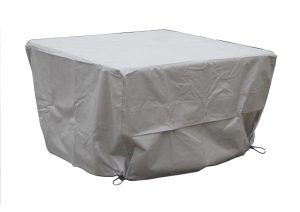 Bramble Crest Square Casual Dining Table Cover - Khaki