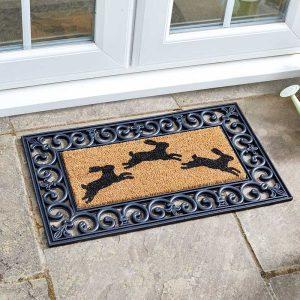 Smart Garden Hares! Coir Insert Mat 23x53cm