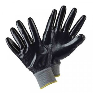Briers Water Resistant Garden Gloves - Black (L)