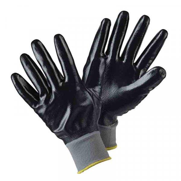 Briers Water Resistant Garden Gloves - Black (L)
