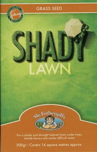 Mr Fothergill's Shady Lawn grass seed