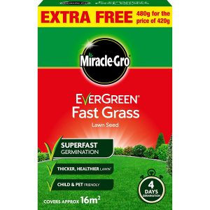 Miracle-Gro Fast Grass Seed 480Gm