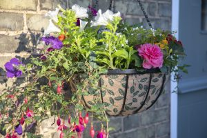 Gardman 30cm (12'') Decorative Hanging Basket Liner (Leafs)