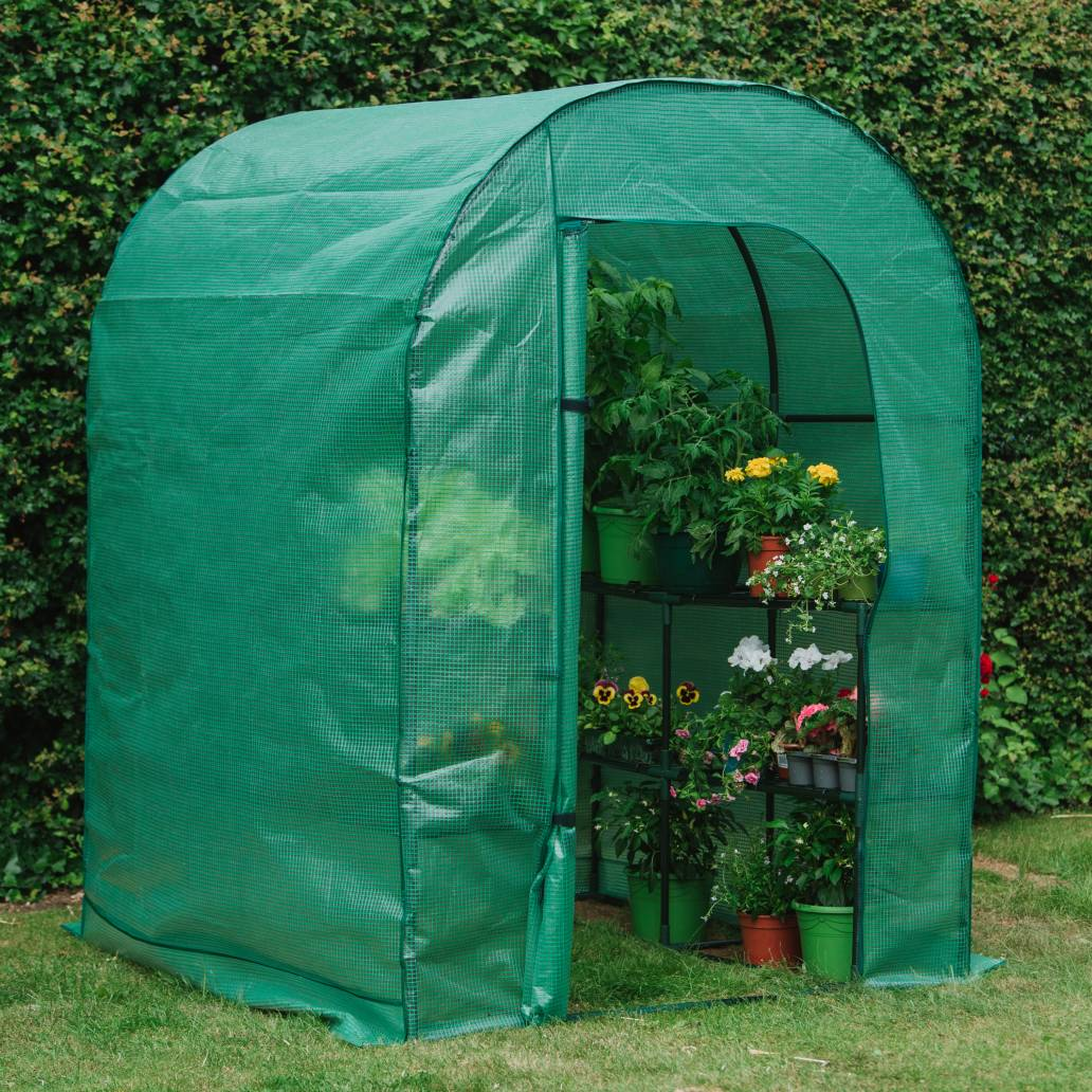 Gardman Grow It Premium Walk-In Growhouse - 2 Shelves - 195cm x 143cm x 143cm