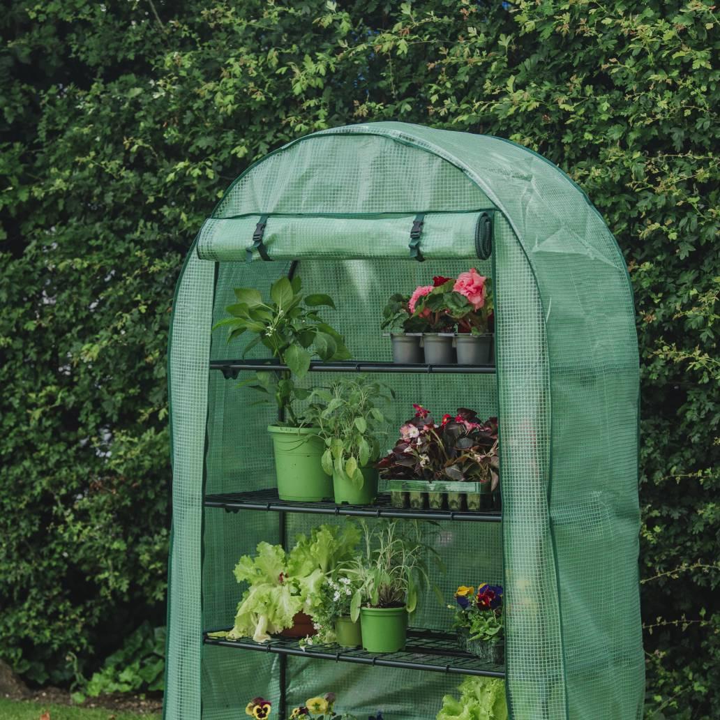 Gardman Grow It Premium 4 Tier Extra Wide Growhouse