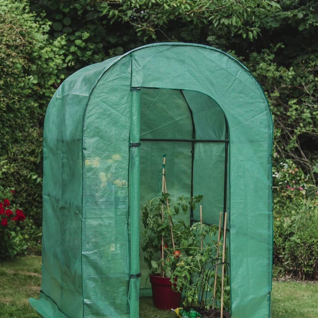Gardman Grow It Premium Walk-In Growhouse - 1 Shelf - 197cm x 127cm x 190cm