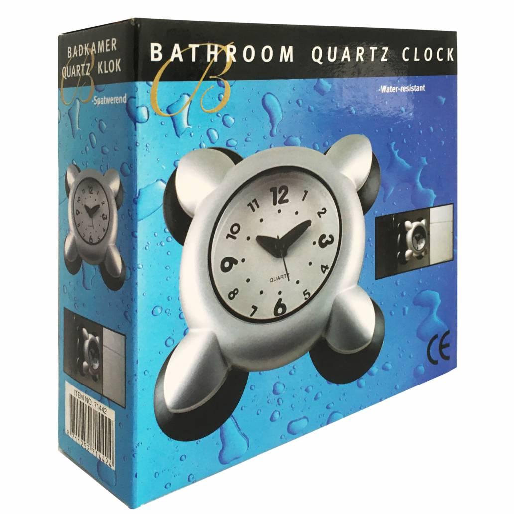 Bathroom Shower Quartz Clock