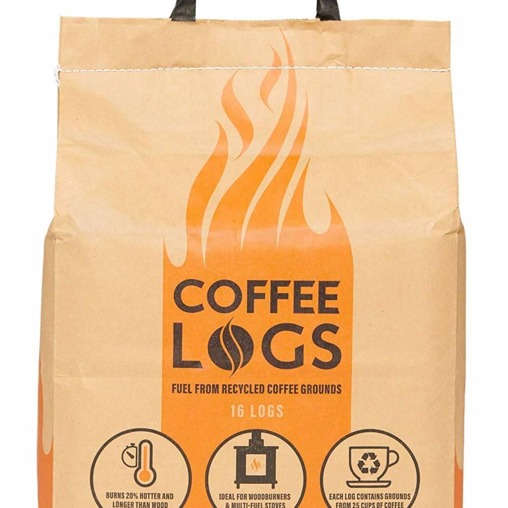 Bio-Bean Coffee Logs 16 Logs