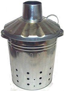 Groundsman Mini Galvanised Incinerator 13 L
