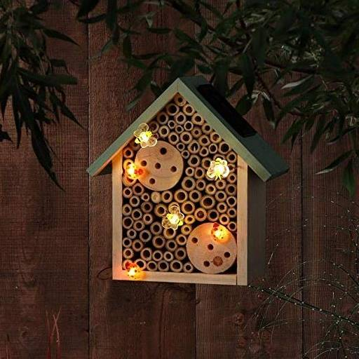 Noma Insect House with Solar Lights