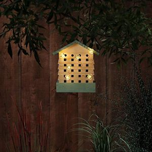 Noma Bee Hive with Solar Lights