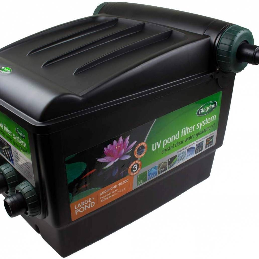 Blagdon Filter Midipond 20000 With UVC 18W