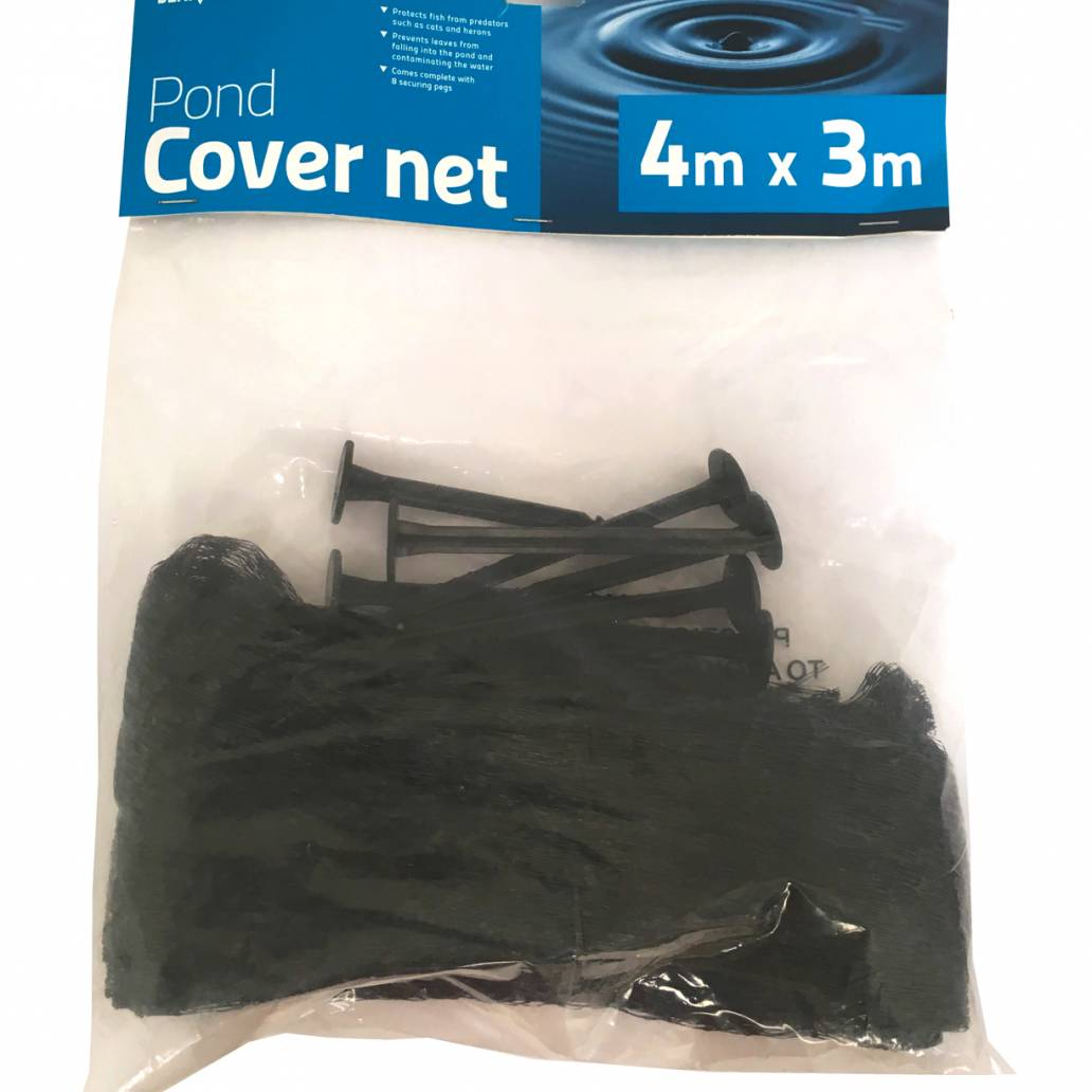 Bermuda Pond Cover Net - 4m x 3m