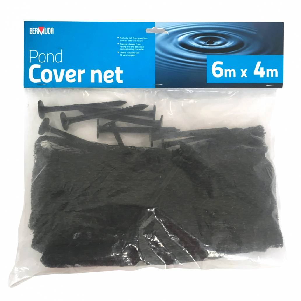 Bermuda Pond Cover Net - 6m x 4m