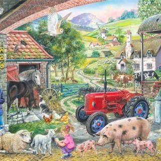 HOP Jigsaw On the Farm 1000 piece