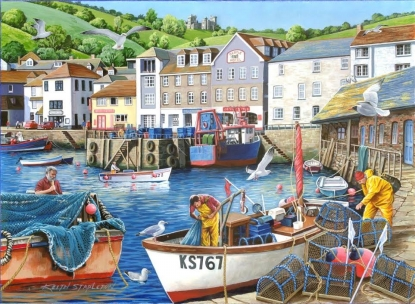 HOP Jigsaw No.12 - Busy Harbour