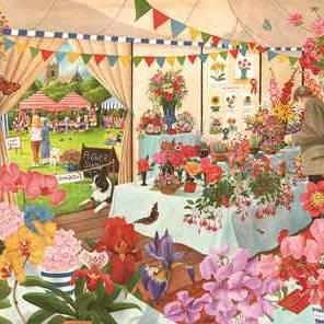 HOP Jigsaw The Brookfield Collection Flower Show 1000 piece