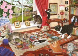 HOP Jigsaw Puzzling Paws