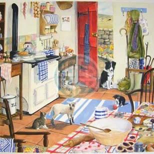 HOP Jigsaw Dalmore Collection 'Farmhouse Kitchen'' - 1000pc