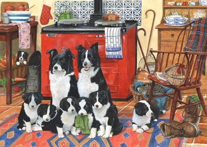 HOP Jigsaw Dellavaird Collection 'Meet The Family' - 1000pc