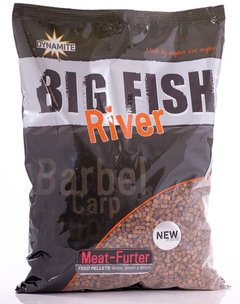 Big Fish Feed Pellet 4,6,8 mm, Meat Furter 1.8kg