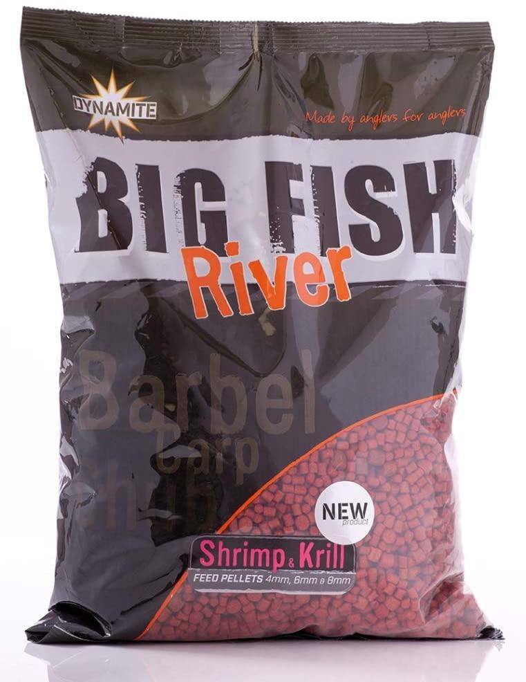 Big Fish Feed Pellet 4,6,8 mm, Shrimp & Krill 1.8kg