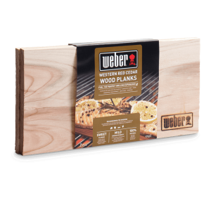 Weber Red Cedar Wood Planks - Small (17522)