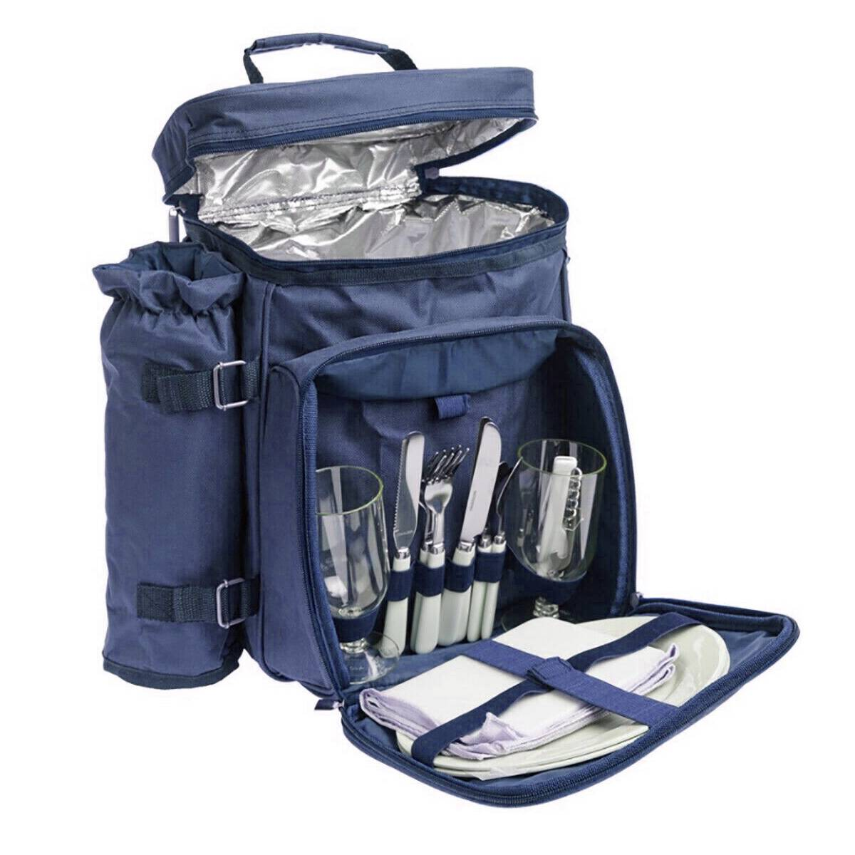 Gardman Picnic Bag 2 Person - Navy Blue