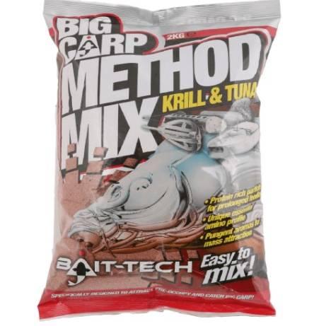 Bait Tec Krill And Tuna 2Kg Method Mix