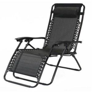 SupaGarden Oversize Zero Gravity Chair Grey