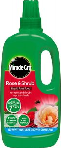 Stax Trading Miracle-Gro Rose & Shrub Food 1L Liquid