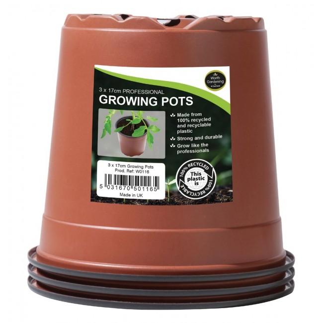 Garland 17cm Professional Growing Pots (3)
