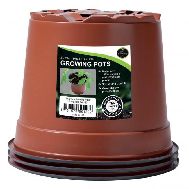 Garland 21cm Professional Growing Pots (3)